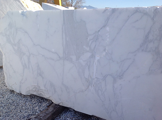 calacatta carrara blocks